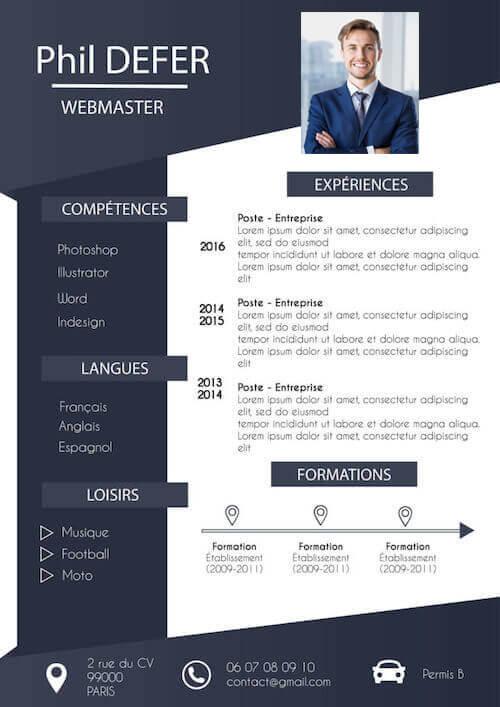 cv en ligne design
